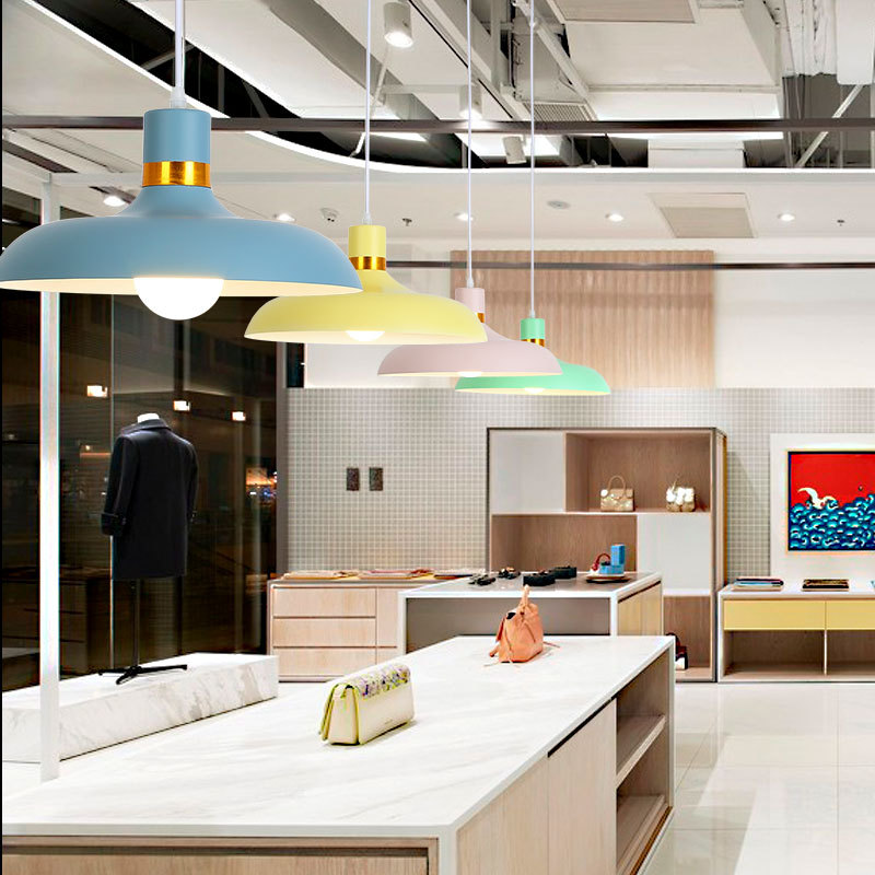 Modern Pendant Light Aluminium Hanging Pot Pendant Lamp Restaurant Dining Room Drop Pendant Light Home Lighting (14)