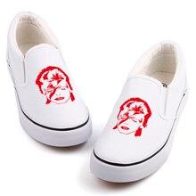 Banda de Rock hombres chico música Heavy Metal diseño zapatos de lona  holgazán superior bajo adulto Tenis alpargatas Slip Casual. 10a733ebb4a