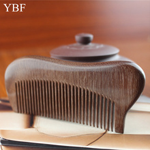 Mens Pocket Hair Combs Healthy Care Natural Wooden Red Sandalwood Comb Professional Hairbrushes Wedding Brosse Cheveux Gift