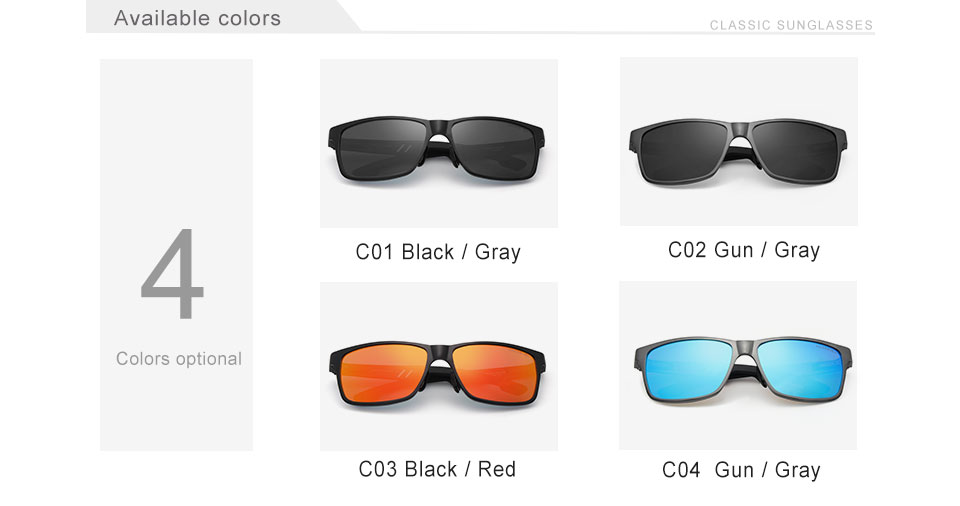 HTB1FmYzogvD8KJjSsplq6yIEFXaN - KINGSEVEN Men Polarized Sunglasses Aluminum Magnesium Sun Glasses Driving Glasses Rectangle Shades For Men Oculos masculino Male