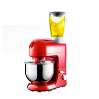 Multifunctional Food Stand Mixer With 5 2L Bowl Meat Grinder Blender
