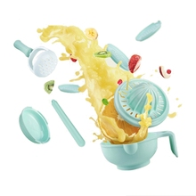 Hot Baby Grinding Food Supplement Feeding Baby Food Dishes Grinding Bowl Kit Infants Handmade Manual Plate Cooking Tools