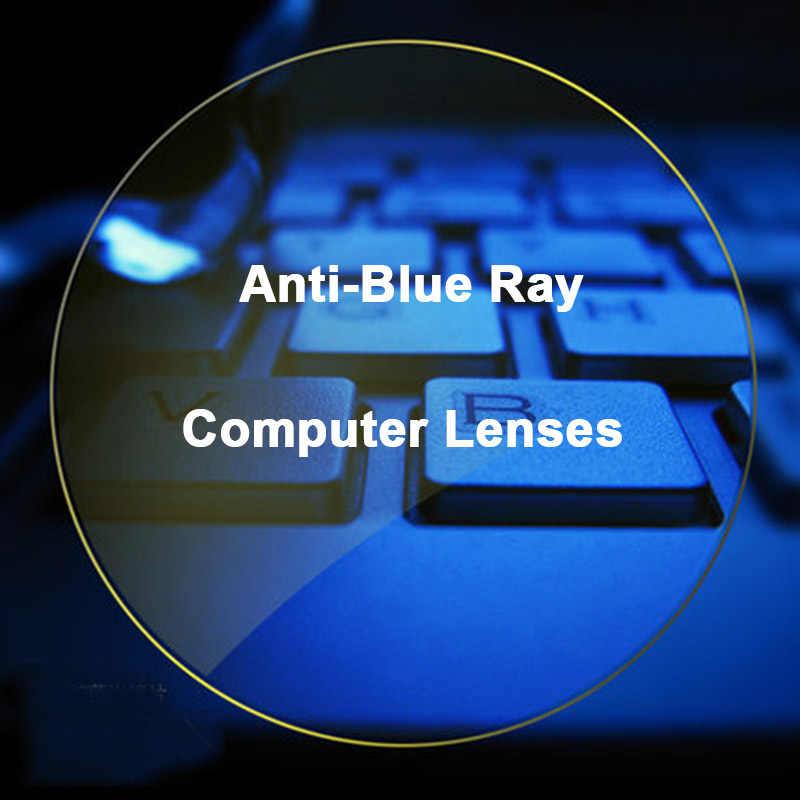 1.67 抗ブルーレイフォトクロミック男性と女性の光学レンズ処方視力矯正レンズデジタルデバイス Photogray