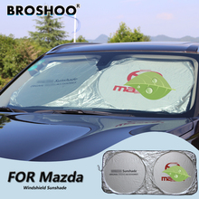 BROSHOO Car Windscreen Sunshade Front Window Sun Shade Windshield Visor Cover For Mazda Cx-5 Cx-7 M5 M6 Mazda 2 5 6 3 8 CX-9