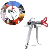 3600PSI High Pressure Airless Paint Spray Gun With Nozzle For Graco Wagner Titan G21 Drop Ship