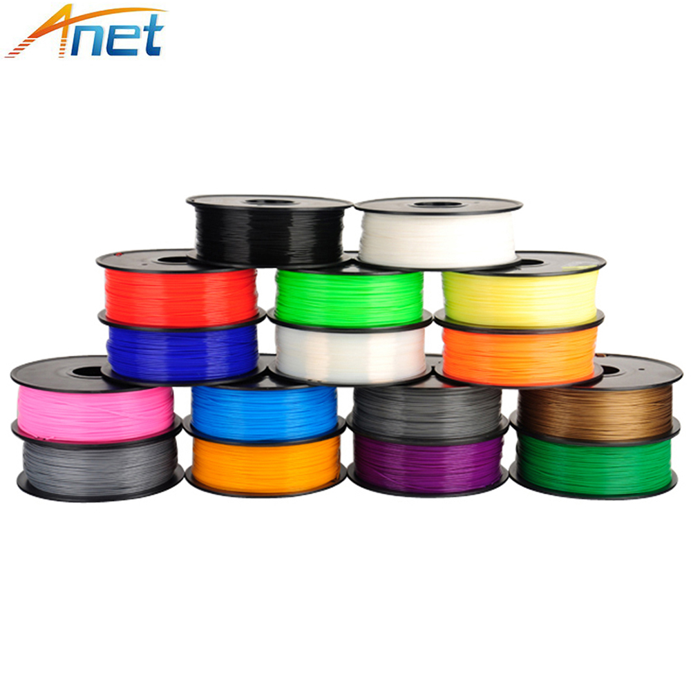 New 0.5KG / 1KG 1.75mm PLA ABS Filament For 3D Printer Printing Filament Materials