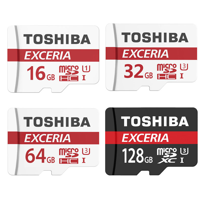 TOSHIBA Micro SD Card 32GB Class 10 16GB/64GB/128GB Class10 UH3 Memory Card Flash Memory Microsd for Tablet Smart Phone Digital