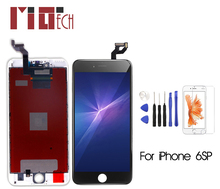 For iPhone 6S Plus Touch Screen LCD Display Digitizer Assembly Replacement With Gifts AAA Quality недорго, оригинальная цена