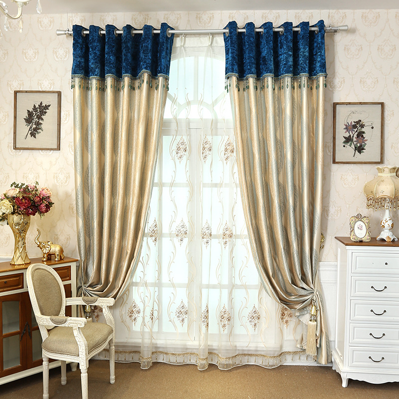 Bronw-Blue-Pink-Yellow-European-Jacquard-Blackout-Curtains-for-Living-Room-Modern-Simple-Curtain-for-Bedroom