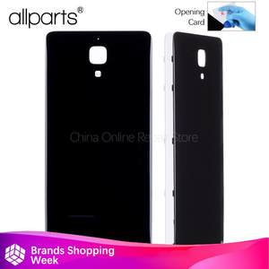 Rear Back Housing for Xiaomi 4 mi4 Back Cover Black White Battery Door 66fa4b3a22