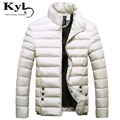Mens Solid Winter thick cotton white Jacket Men Stand Collar zipper parkas cotton-padded winter warm  jacket softshell  JZYY1399