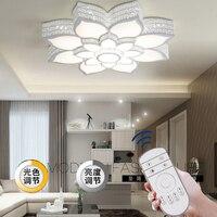 Современные Хрустальные потолочные светильники для спальня гостиная плафон лампы lampen kristal moderne акрил светильники светильников