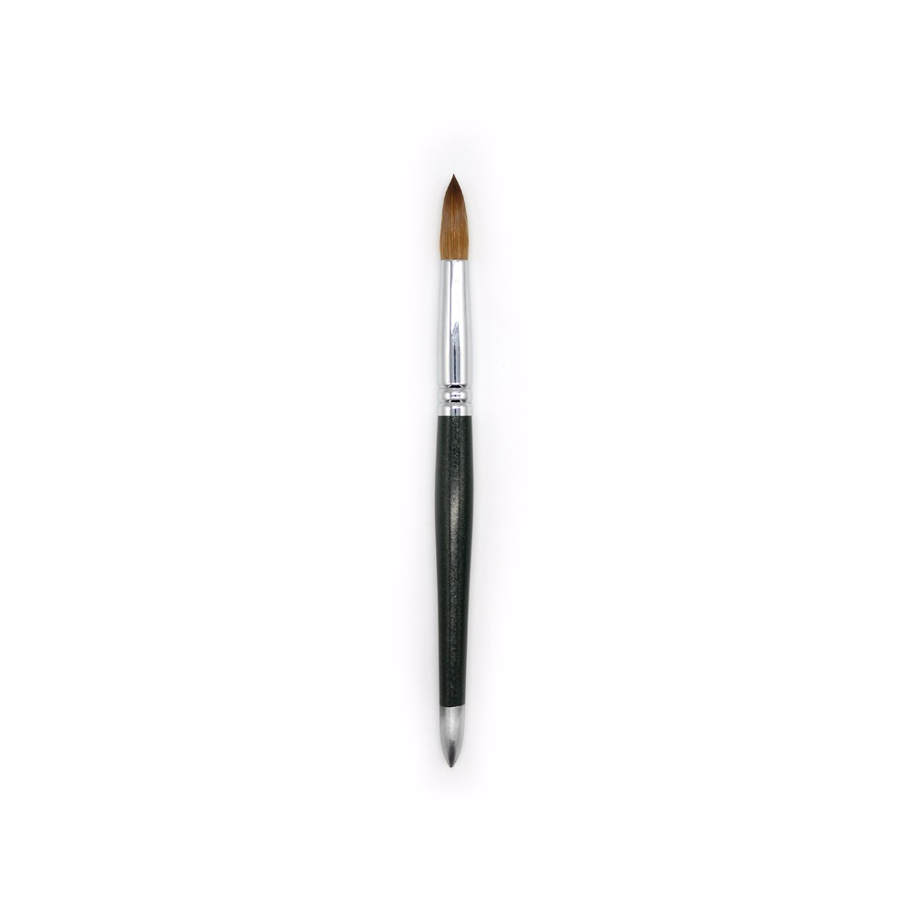 Eval 22# Sable Paint Brush Nail Bursh Acrylic Nail Brush Kolinsky UV Gel Acrylic Nail Art Tool