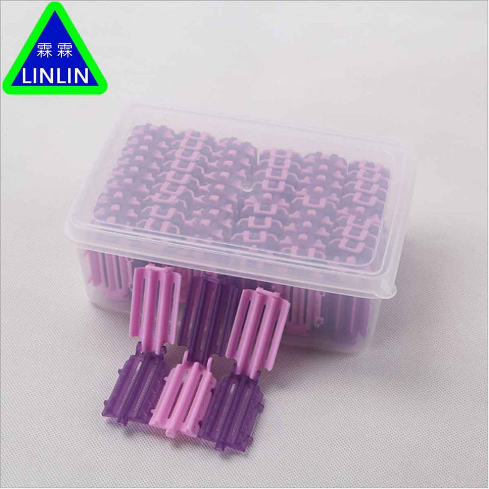 LINLIN 60pcs bag Hair Clip Wave Perm Rod Bars Corn Curler DIY Roots Preming Fluffy Hairdressing