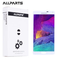 New 5 7 AMOLED Screen For SAMSUNG Galaxy Note 4 LCD Display Note4 N910 Touch Screen