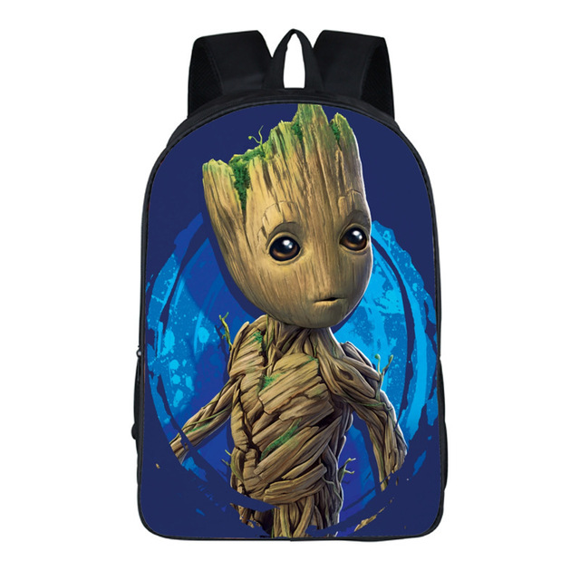 Marvel Comics Guardians of the Galaxy Rocket Racoon Backpack For Teenagers  student School Bags Travel Bag Backpacks 19 style 632b17833f685