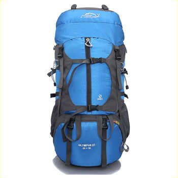 Professional Hiking Backpack Camping Outdoor 65L Travel Bag Field Pack Men and Women Shoulder Rucksack Knapsack Large Capacity