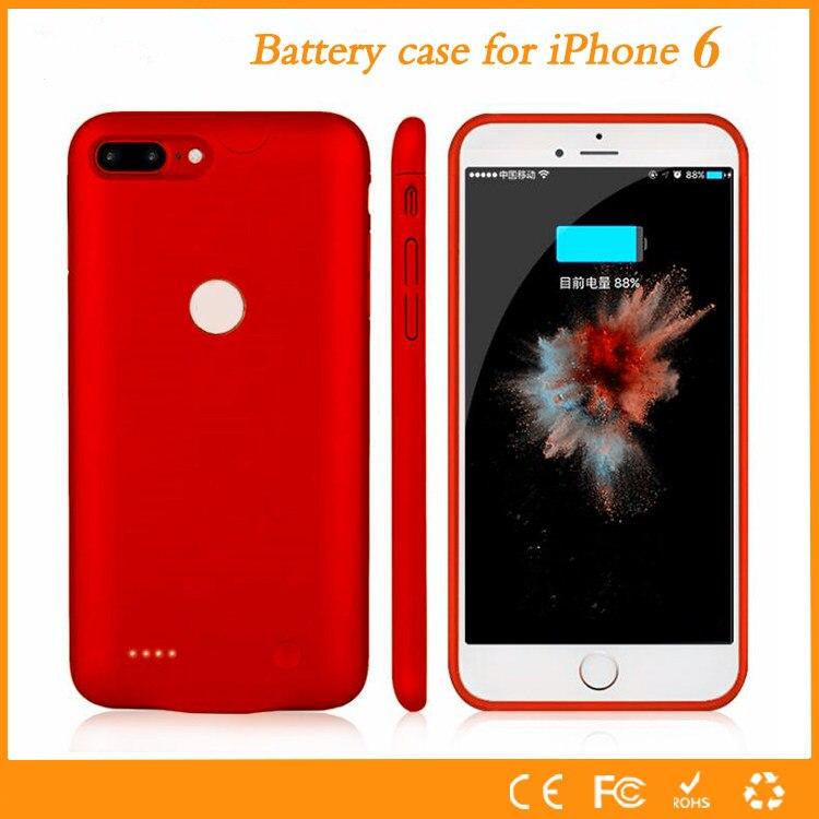 imágenes para 2017 el más nuevo ultra delgado inteligente para apple iphone 6 6s batería caso para iphone 6 6s plus cargador de energía caja de batería de copia de seguridad caso