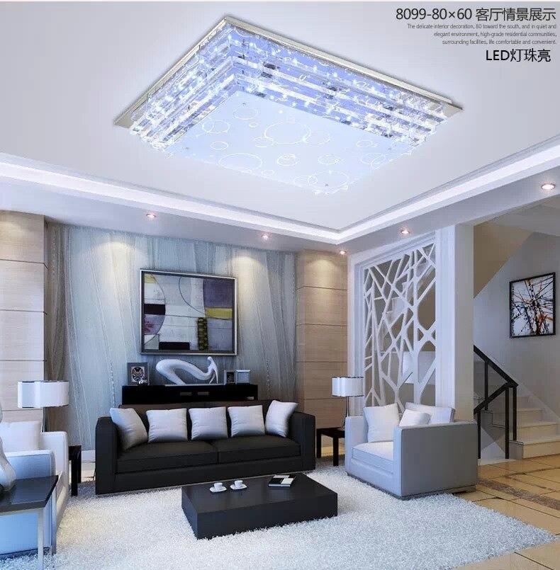 Moderne Luxus glas led deckenleuchte lampe E27 LED lampe ...