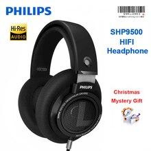 Оригинальные Philips профессиональные SHP9500 наушники с HIFI качеством звука гарнитура для Xiaomi huawei