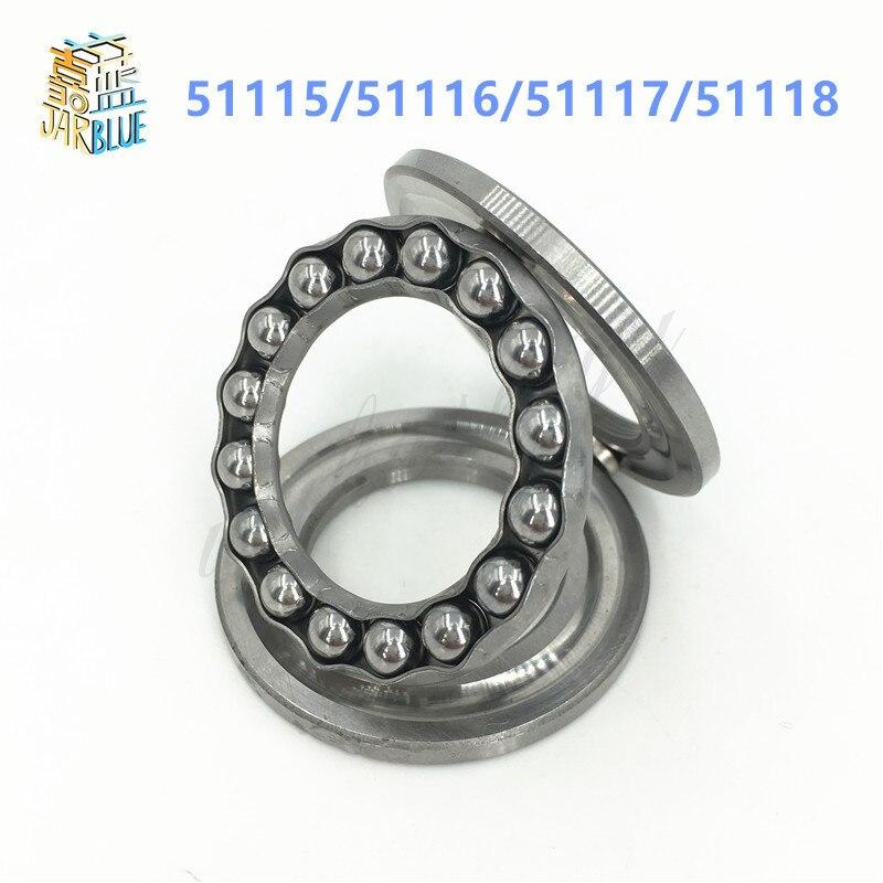 1Pcs 51115/51116/51117/51118 Axial Ball Thrust Bearing 3-Parts 75x100x19mm 80x105x18mm 85x110x19mm 90x120x22mm