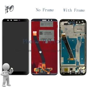 Image 1 - フル Lcd ディスプレイ + タッチスクリーンデジタイザのためのフレームと Huawei 社の名誉 9 Lite/名誉 9 青年版 LLD L31