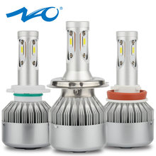 NAO H7 LED H4 led Bulb Car Headlight Kit 12V H11 H8 H9 80W 9000LM Automobiles lamp Auto 6000K White Light 24V Super bright E3(China)
