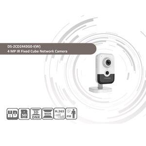 Image 2 - Hikvision DS 2CD2443G0 IW واي فاي كاميرا مراقبة فيديو 4MP الأشعة تحت الحمراء الثابتة مكعب كاميرا ip لاسلكية اتجاهين الصوت H.265 +