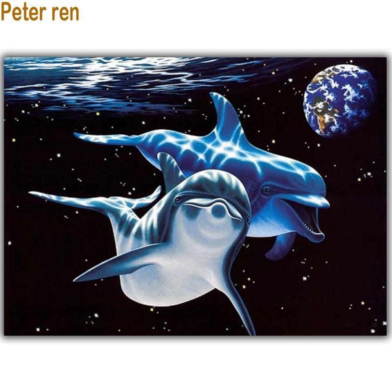 Peter ren Diy diamante pittura punto croce kit Diamante ricamo - Arti, mestieri e cucito