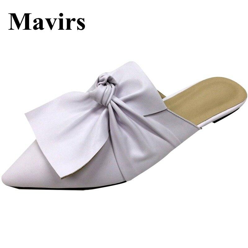 MAVIRS Marke Frauen Pantoletten Hausschuhe 2018 Mode - Damenschuhe - Foto 1