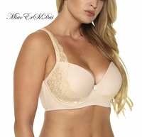 Sexy Push Up Bra Lace Bra T Shirt Bra Plus Size For Women Very Support Underwire