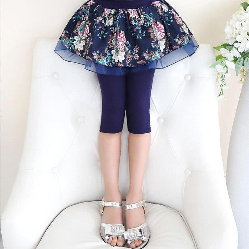 Spiring Legginsy Girls 2018 Fashion Elestic Talia Candy Kolor Skinny - Ubrania dziecięce - Zdjęcie 3