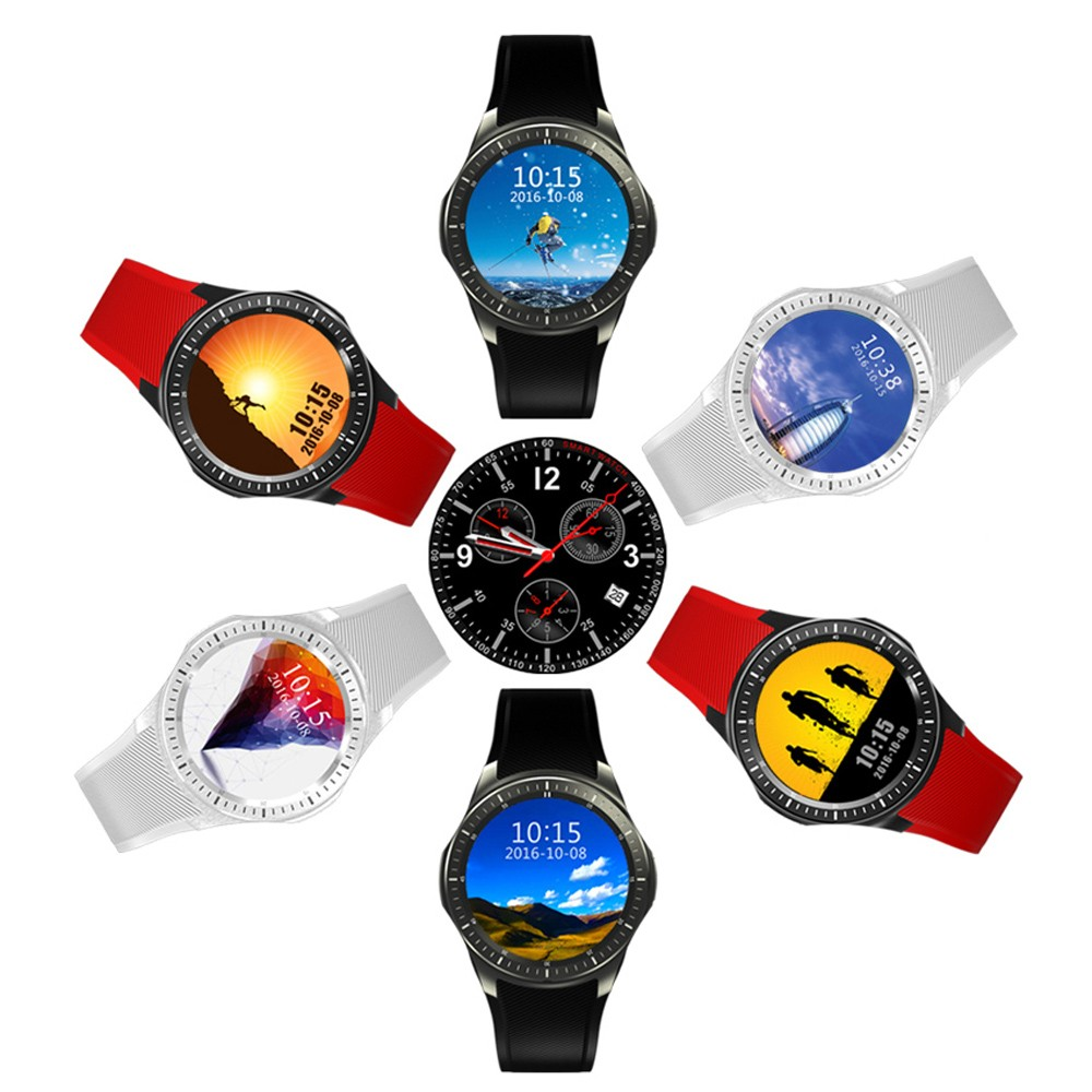 DM368 Bluetooth font b Smart b font Watch Health Wrist Bracelet Heart Rate Monitor WIFI GPS