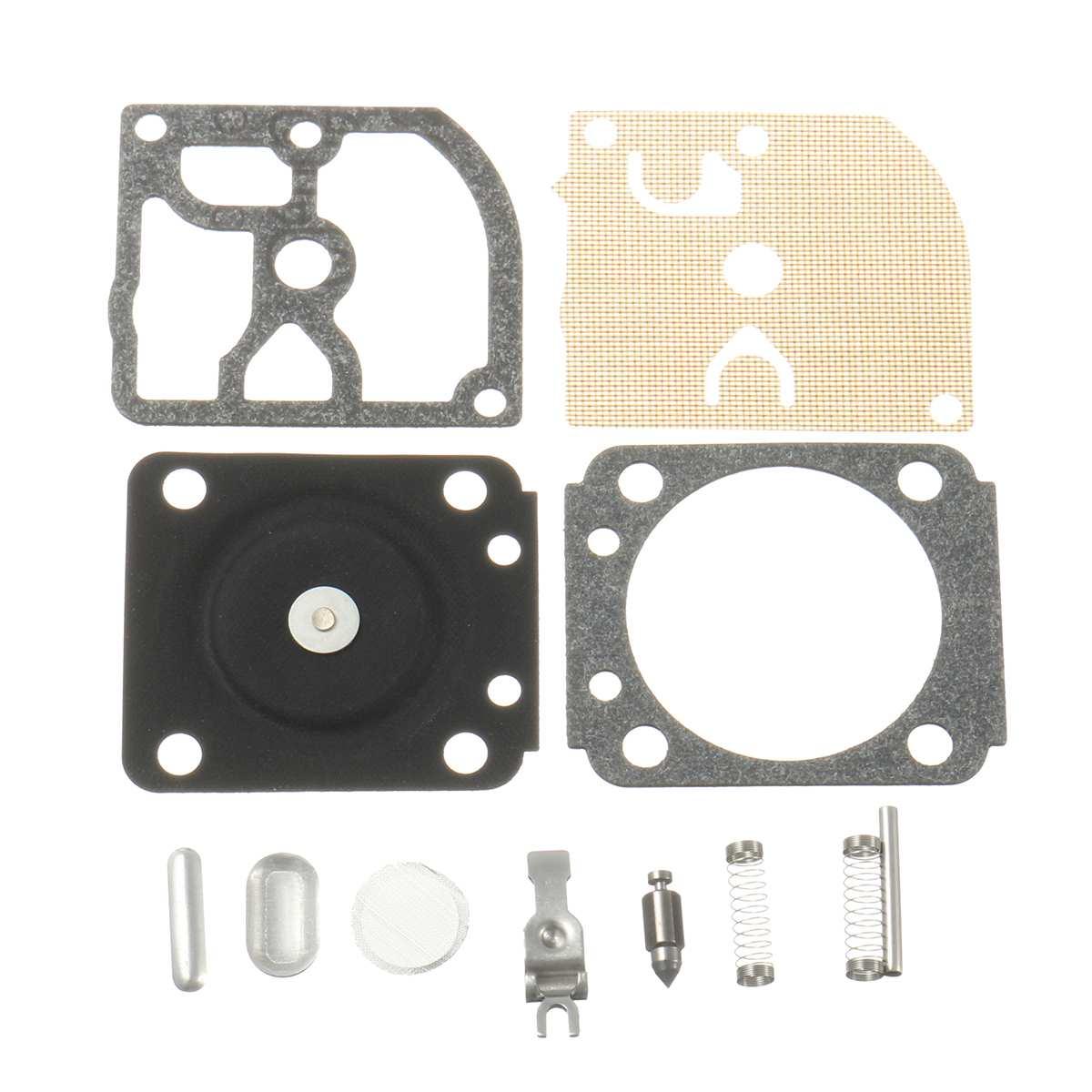Carburetor Carb Repair Rebuild Kit Gasket For ZAMA RB77/STIHL 018 017 MS180 170