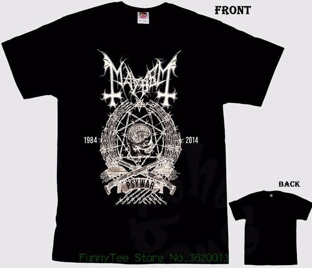 9c4ff9984f6a Mayhem Norwegian Black Metal Band , T _ Shirt , Sizes : S To 6xl-in ...