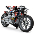 Freeshipping Big Size Motorcycle Machinery Group Of Assembling Building Block Toy For Kids Gifts