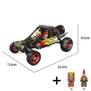 Image 2 - סופר רכב טנדר SUV למבוגרים מיני אבני בניין פאזל עצרת דגם צעצוע קשה בני