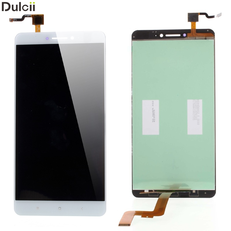 Dulcii Mobile Phone Parts For Xiaomi Mi Max OEM LCD Screen and Digitizer Assembly Replacement Part - White