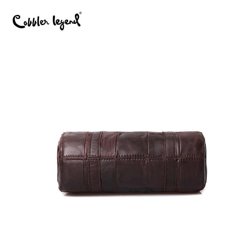 Cobbler Legend Genuine Leather Hign Quality Designer Luxury Women's Handbag Leather Messenger Bag Luxury Women Bags Designer