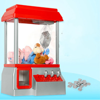 Cdragon Candy Grabber Kids Adult Funny Desktop Family Game Toy Mini Dolls Grabber Machine Claw Toys free shipping