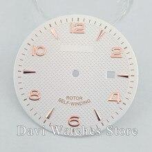 Corgeut/estéril Venta caliente 35,6mm esfera del reloj Fit ETA 2836,Miyota 8215 8205 821A movimiento