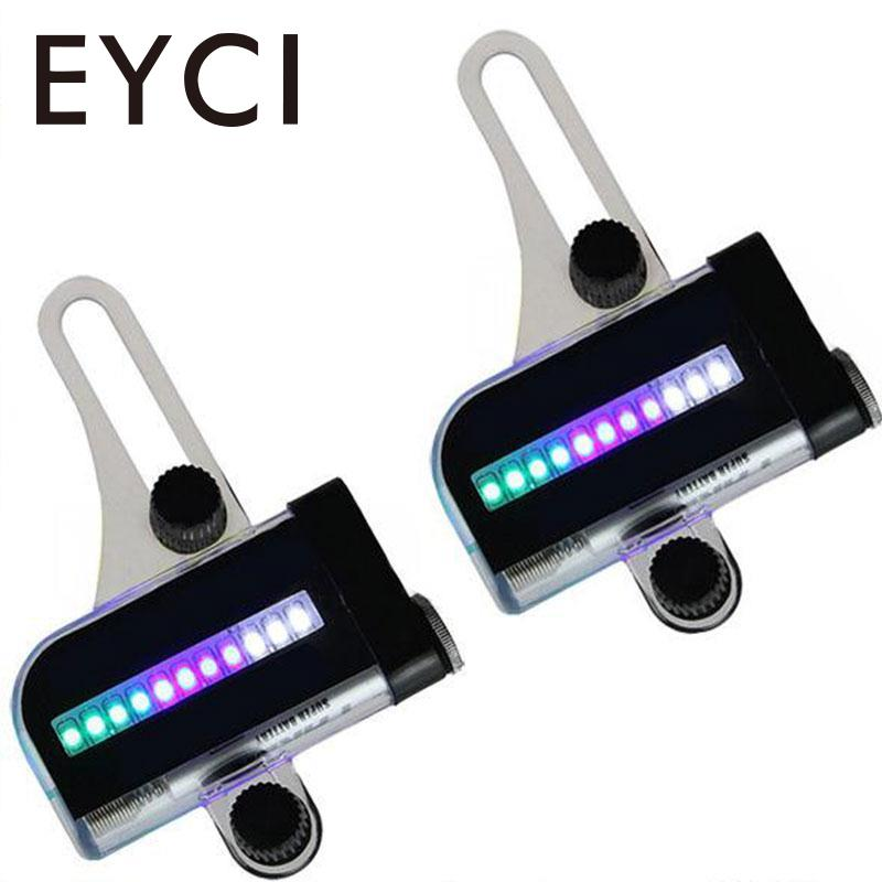 EYCI 14 LED Cycling Bicycle Bikes Wheel Signal Tire Spoke Light For Ciclismo 32 Changes New Luces Led Bicicleta Bike Light