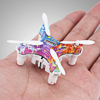 Cheerson CX-10DS CX10DS Smart Q Headless Mode 6Axis Mini RC Quadcopter 2.4G Phone Pad Control Toy Helicopters Aircraft RTF Drone