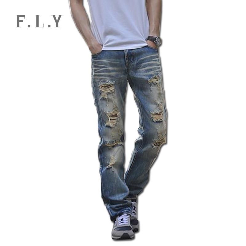 Mens Designer Ripped Jeans Ye Jean