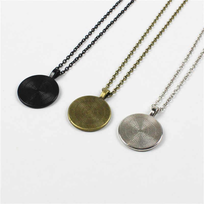 2018 nuovo prezzo basso del commercio all'ingrosso tre colori opzionale magia femminile di cristallo pendente della collana di modo dei monili del regalo