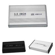 Новый 3.5 дюймов USB 2.0 SATA внешний HDD HD жесткий диск корпус Box QJY99