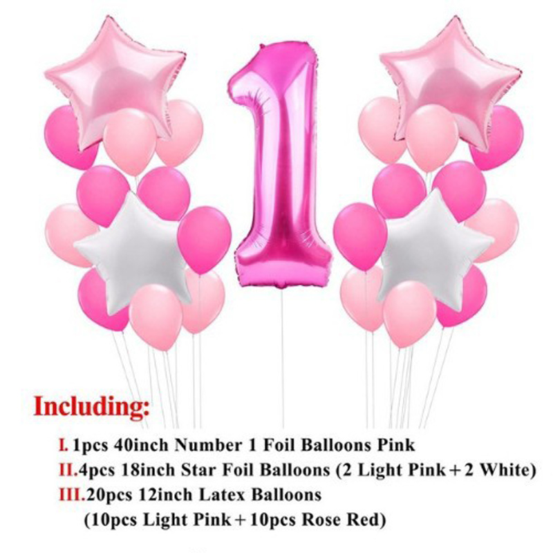 """16/"""" Number 1 to 9 Foil Balloons number BIRTHDAY PARTY WEDDING /& Mounting Tape"""