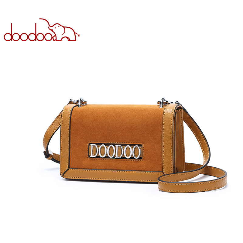 DOODOO Brand Women Bag Female Shoulder Crossbody Bags Ladies Artificial Leather Small Messenger Bags 2018 New Spring Suede Tote стоимость