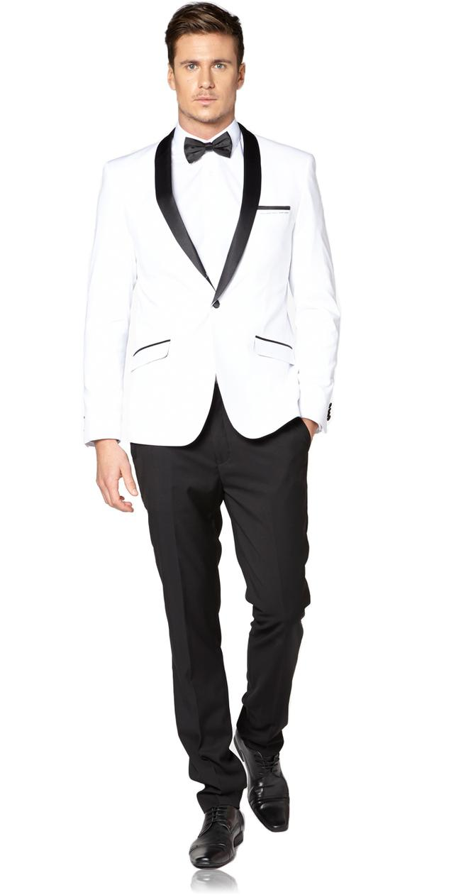 Shop for and buy white dinner jacket online at Macy's. Find white dinner jacket at Macy's. Macy's Presents: The Edit- A curated mix of fashion and inspiration Check It Out. Free Shipping with $75 purchase + Free Store Pickup. Contiguous US. Sean John Men's Classic-Fit White Solid Tuxedo Jacket.