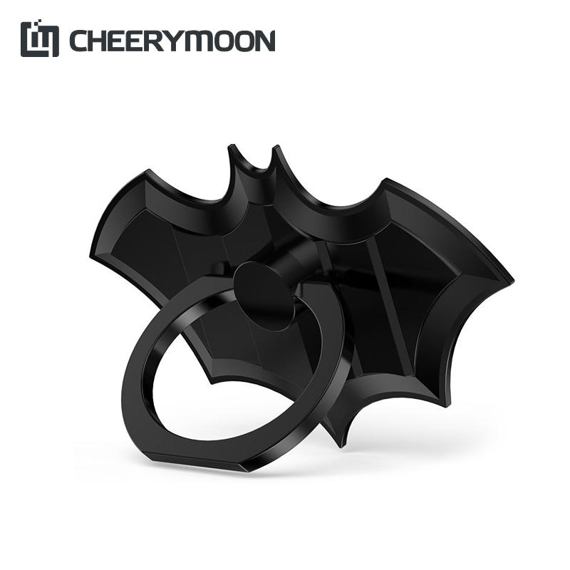 CHEERYMOON Fast Ship 2PCS Bat Ring Metal Universal Mobile Holder - Accesorios y repuestos para celulares - foto 1